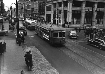 The End of Toledo's Streetcars
