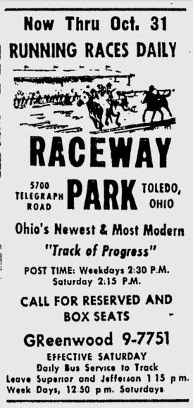 The first meet ran all of October, 1959.