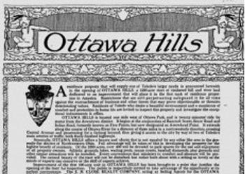 Ottawa Hills is born