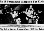 The 21-year-old singer stopped in Toledo on Thanksgiving day 1956, played two shows at the Sports Arena, and beat up a guy later at the Commodore Perry Hotel.