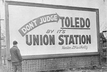 Toledo's old Union Station