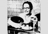 Is Tomato Pudding a unique Toledo delicacy? The answer seems to be yes after Mrs. Carrie Wall, above, revealed the dish's secrets to Blade readers in 1960.