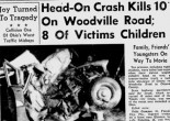 Ten people, eight of them children, died in a July, 1963 accident southeast of Genoa on Woodville Road.