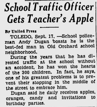 From the Berkeley Daily Gazette of Sept. 17, 1936. Really.