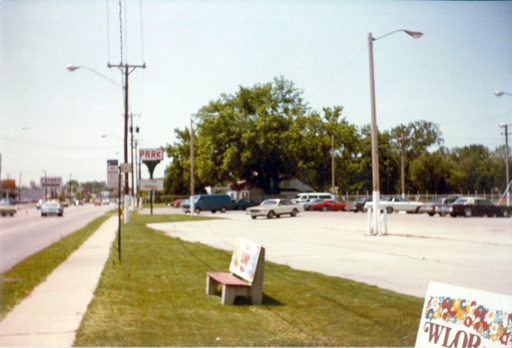 Par 3 Golf Course, looking northwest along Monroe Street. Photo by the author, 1983.