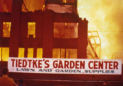 How Tiedtke's Burned Out, and Up