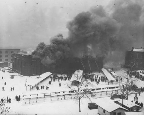 The Spielbusch Armory Fire