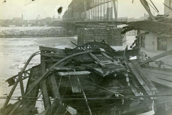 The Yuma hits the Cherry Street Bridge